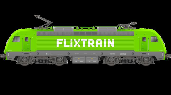 De FlixTrain houdt de herkenbare uitstraling van FlixBus