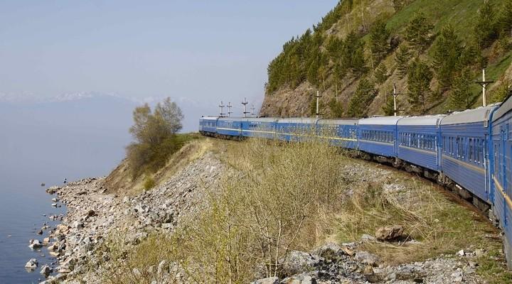 Trans Siberië Express, trein