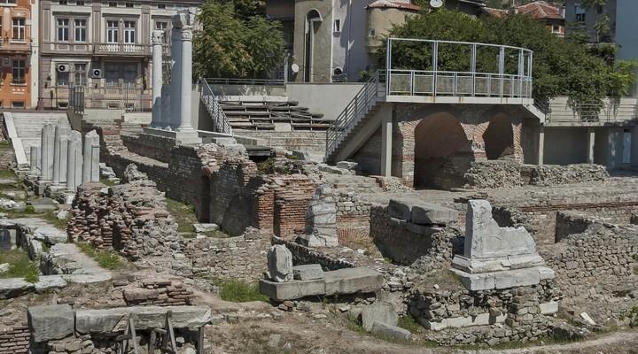 Romeins theater van Plovdiv