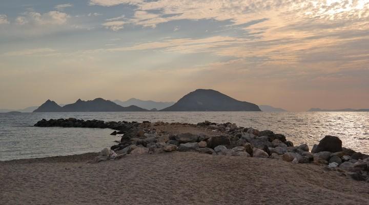 Het strand van Turgutreis