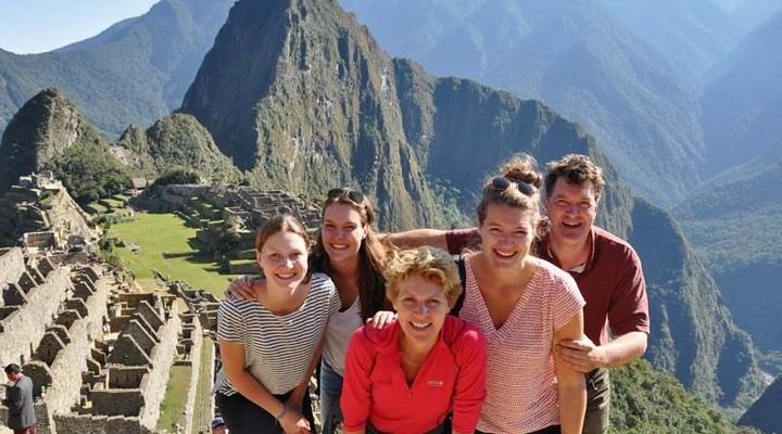 Machu Picchu tijdens familiereis Peru