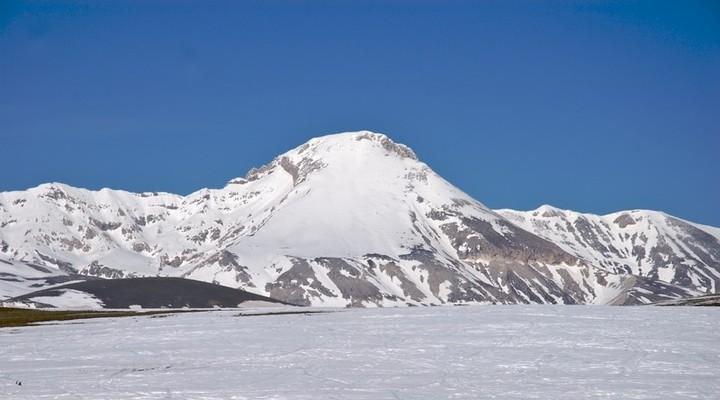Skigebied in Italië