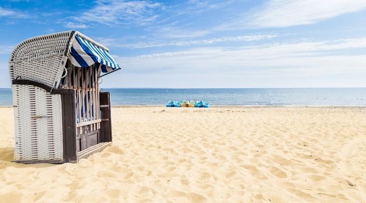 Strandstoel strand Sleeswijk-Holstein