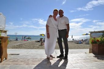 Robijnen huwelijk vieren in Kroatië