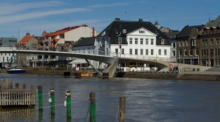 Fredrikstad, klein stadje in Noorwegen
