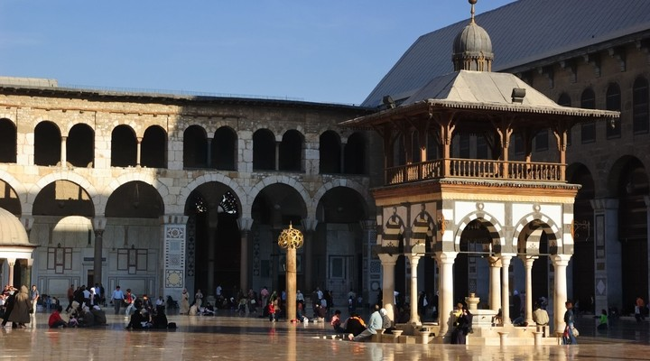 Moskee in Damascus, Syrië