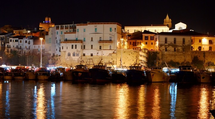 Termoli, stadje Molise, Italië