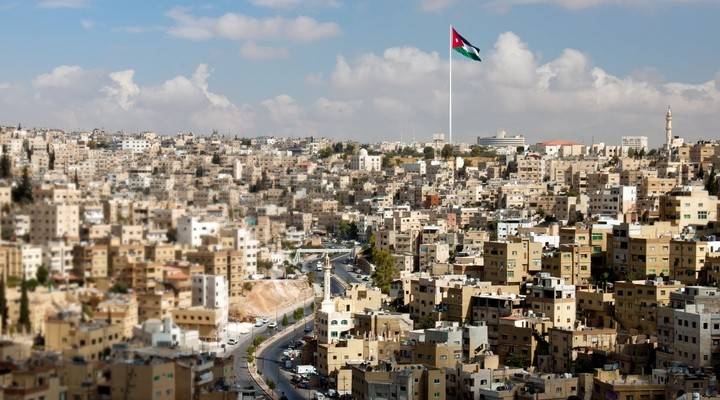 Amman, stad Jordanie