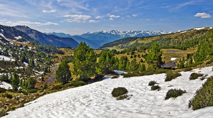 Het prachtige landschap van Andorra