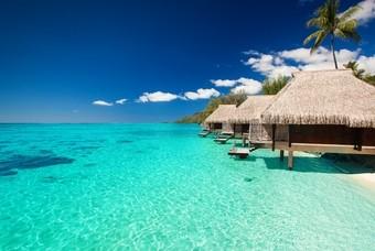 Vakantiehuisjes op de Malediven