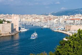Oude haven van Marseille, Frankrijk