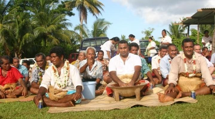 Kava ceremonie in Tonga