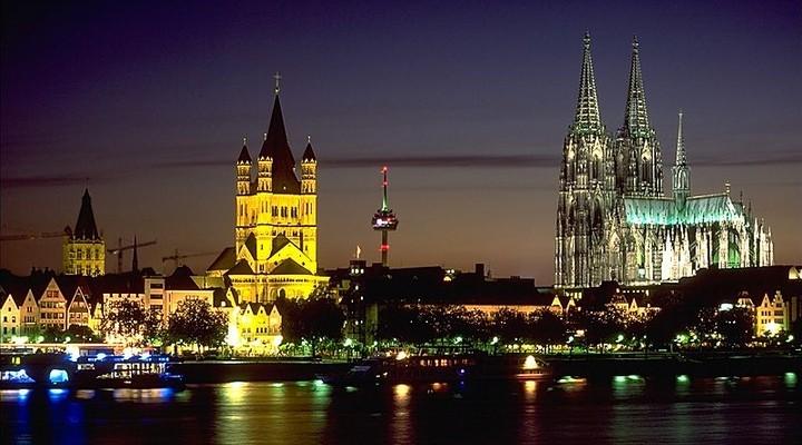 de skyline van Keulen