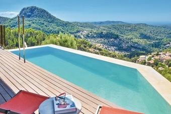 Uitzicht op de Spaanse landschappen