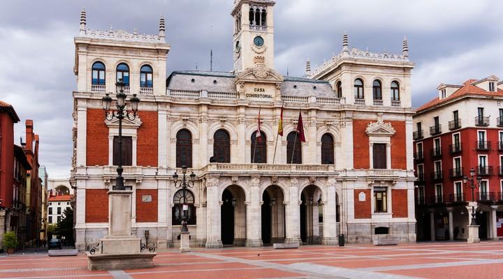 Stadhuis van Valladolid - Spanje