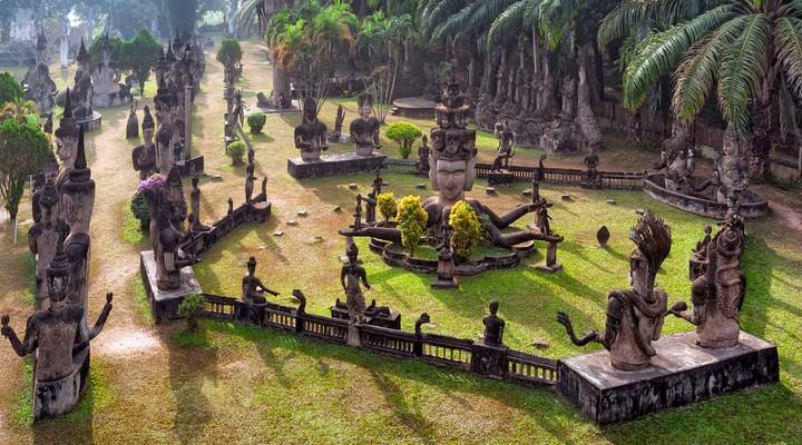 Boeddha park in Vientiane