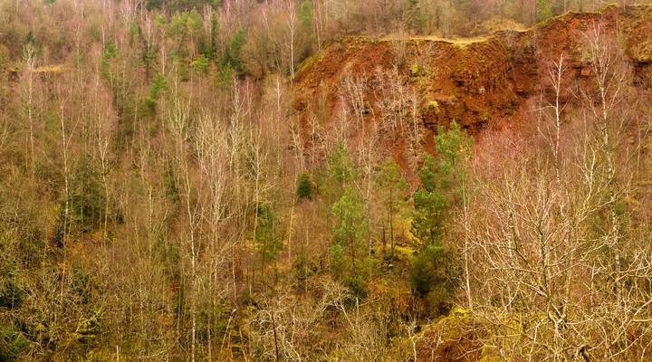 Terre Rouge, landschap Esch-sur-Alzette, Luxemburg