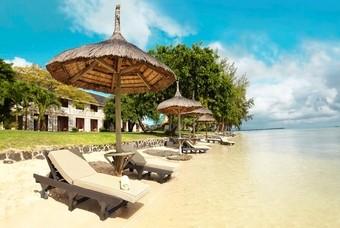 Heerlijk strand op Mauritius