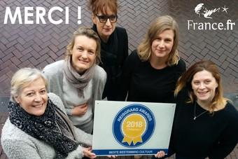 Frankrijk wint Reisgraag Award 2018