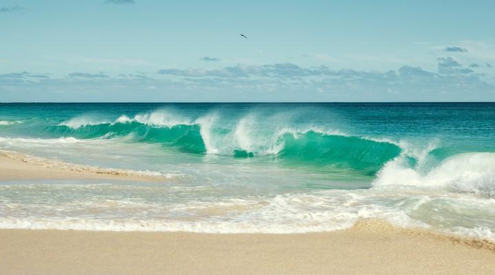 Golven op Kaapverdië