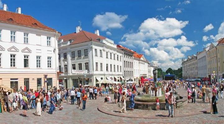 Tartu stad zuidoost Estland