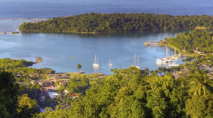 Landschap Port Antonio