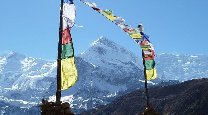 Wandeltocht naar Annapurna