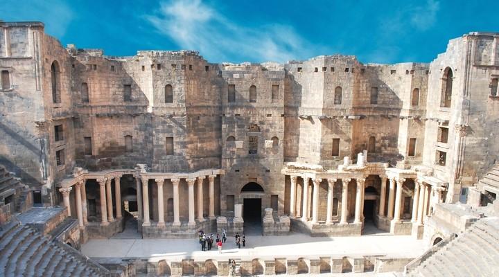 Bezienswaardigheid Bosra, stad Syrie