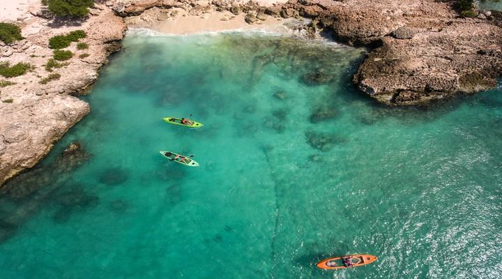 Kajakken op Aruba , credits Aruba Tourism
