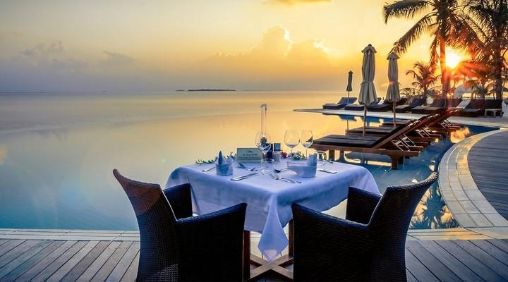 Terras van Kuredu Island Resort