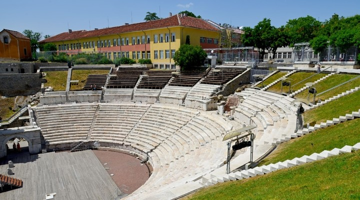 Romeins amfitheater Plovdiv