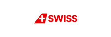 Logo van Swiss Air
