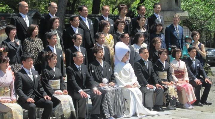 Een Japans huwelijk in de hoofdstad Kyoto