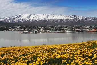 Nieuwe vliegroute naar Akureyri in Noord-IJsland