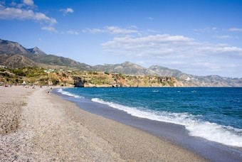 Burriana strand in Nerja - Costa del Sol