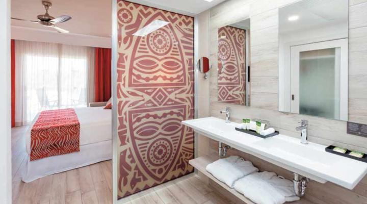 Badkamer van Familiekamer