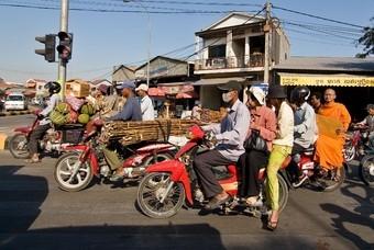 Verkeer in Cambodja