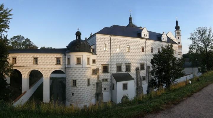 Kasteel van de Heren van Pernstejn in Pardubice