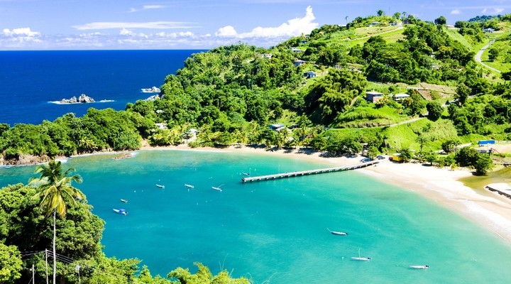 Strand in Tobago
