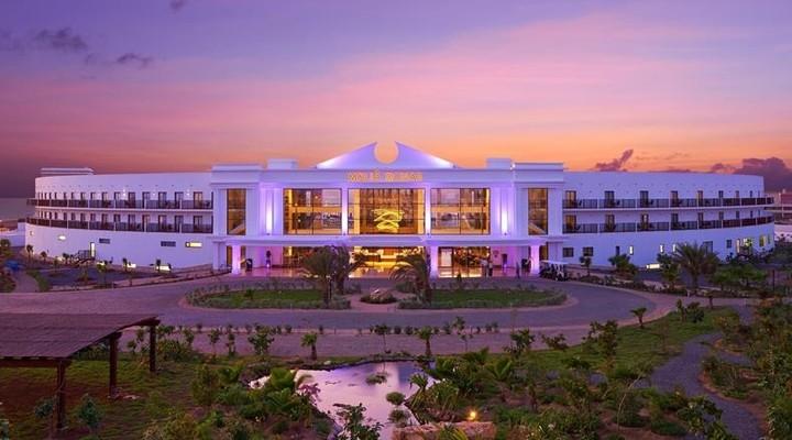 Uitzicht op het Sol Dunas Resort