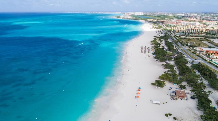 de stranden van Aruba , credits Aruba tourism
