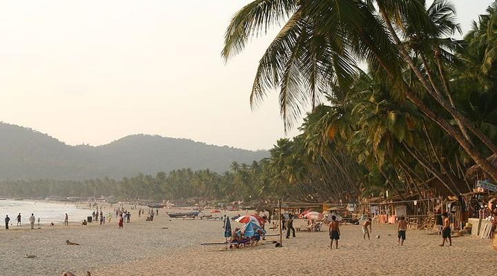 Genieten van de laatste dag in Goa