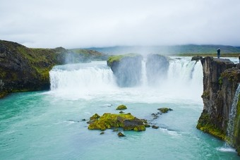 Godafoss Waterval, Noord-IJsland