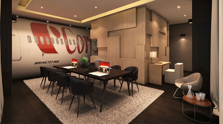 Concept Corendon 737 suite