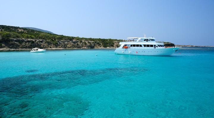 mooie baaien op Cyprus