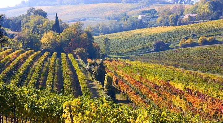 Landschap Emilia Romagna, Italië