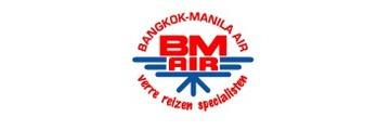Logo van BM Air Reizen