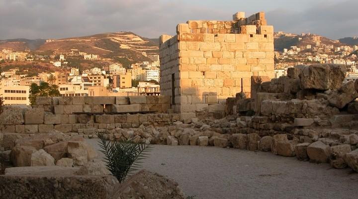 Byblos Kasteel Beiroet Libanon