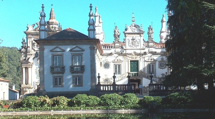 Palacio de Mateus in Vila Real