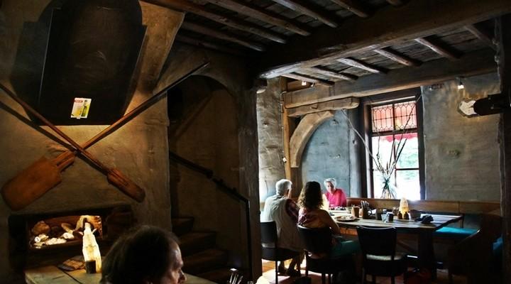 Een echt Middeleeuws restaurant